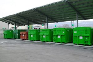 GARBAGE TRUCK CONTAINER вывоз мусора