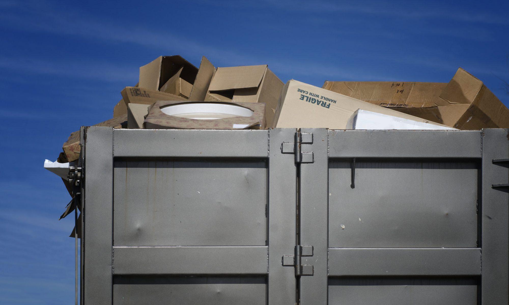 заказать контейнер под мусор