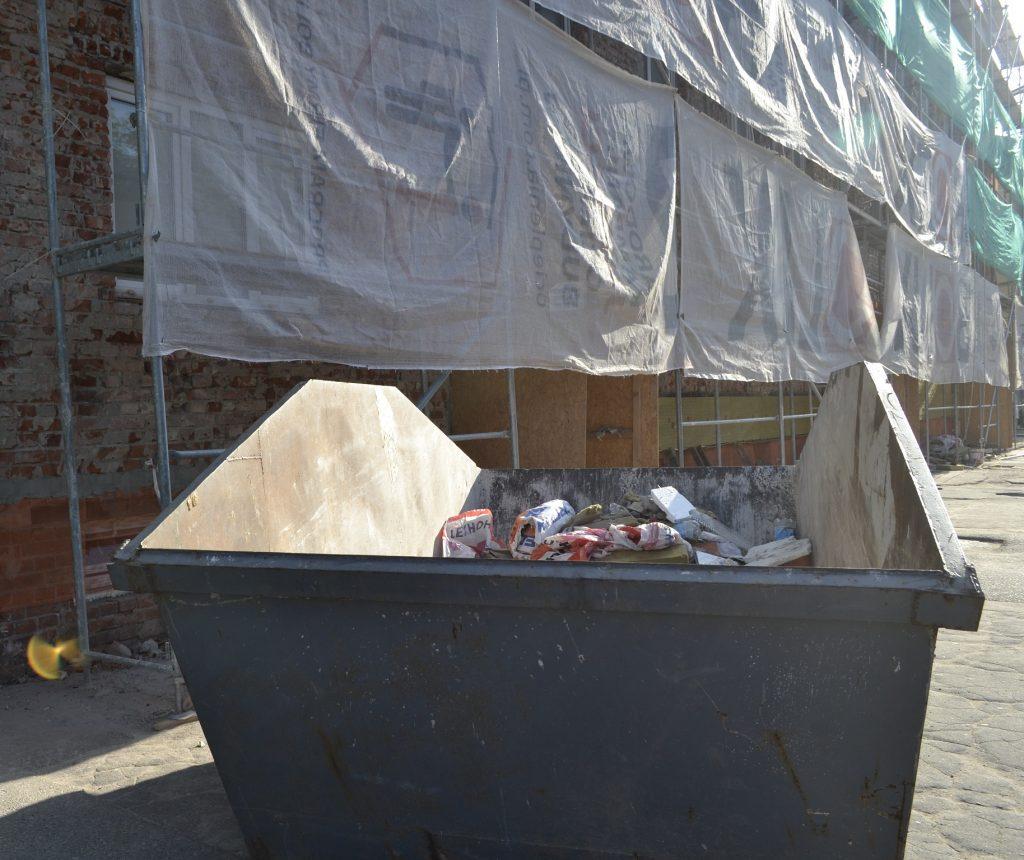 Вывоз мусора контейнером Моcква
