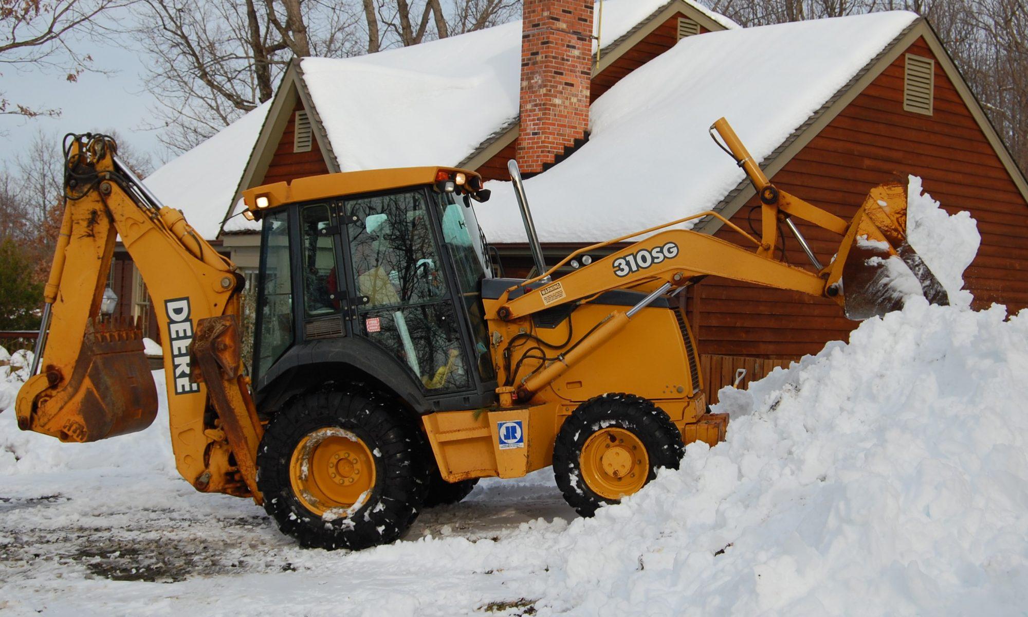 Вывоз снега в Москве