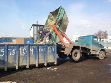 Контейнер для вывоза мусора 20 м3