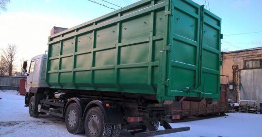 Контейнер для вывоза мусора 27 м3