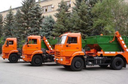Контейнер для вывоза мусора 8м3