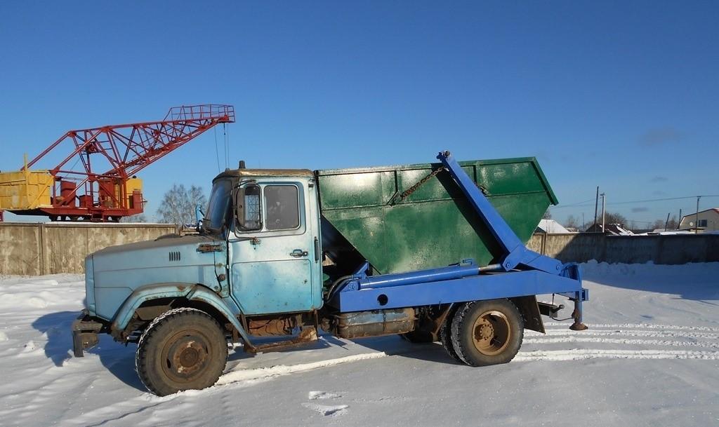 Vivoz-snega-konteiner-Вывоз снега контейнерами ❄ аренда мусорных контейнеров